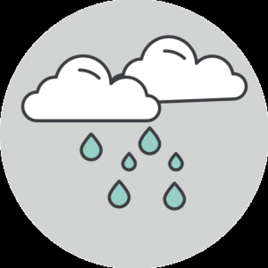 cobertura comercio de lluvia