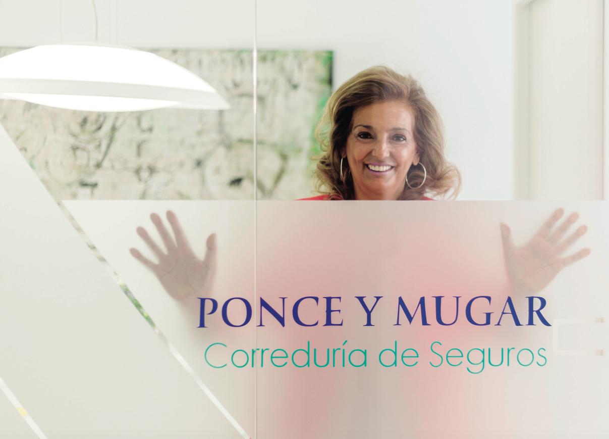 Foto de Ana Muñoz, socia y presidenta de Ponce y Mugar.