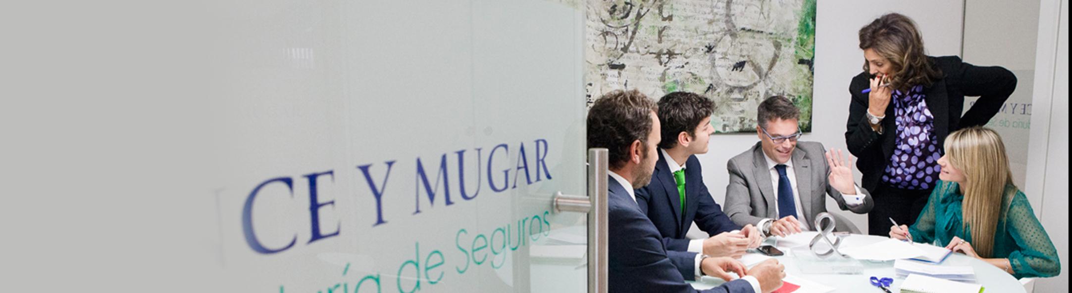 El equipo Ponce y Mugar Correduría de seguros Madrid