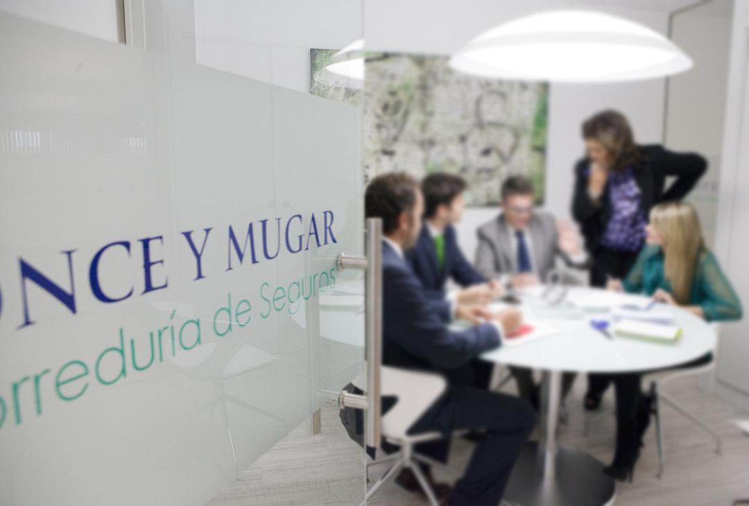 Equipo Ponce y Mugar Correduría de seguros Madrid