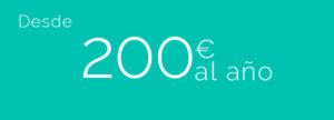 Precio seguro de responsabilidad civil. desde 200€ al año.