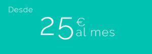 Precio seguro de salud. desde 25€ al mes.