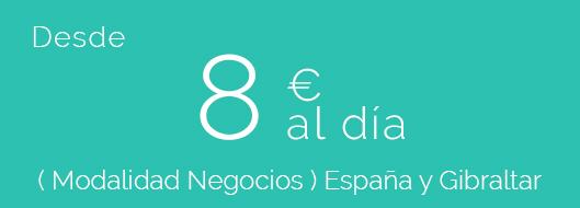 Precio de seguro de viaje. Desde 8€ menos de 3 meses en España y el extranjer.