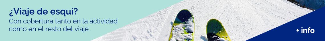 Seguro de esquí: Si vas de viaje a esquiar, este es el seguro a tu medida, con cobertura tanto en la actividad como en el resto del viaje. Ponce y mugar, correduría de seguros.